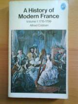 A History of Modern France: 1715-99 v. 1 (Pelican)