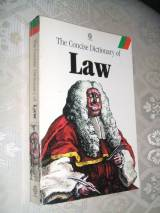 The Concise Dictionary of Law (Oxford Paperbacks)