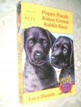Omnibus; 3 books in one: PUPPY PUZZLE; KITTEN CROWD; RABBIT RACE